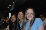 Izzy Uong, Hannah Murphy, and Jillian Donahue