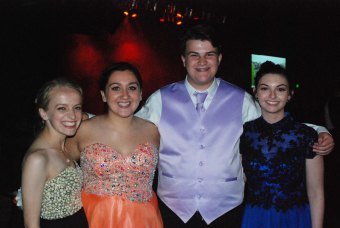 Katie Gardner, Emma McGarry, Chris Landy, and Michaela Burke