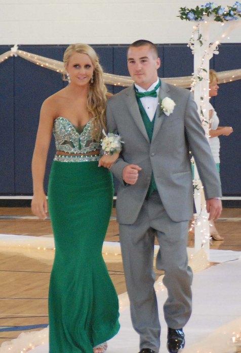 Kallie Morss and Joey Reardon