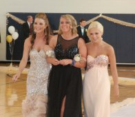 Mekenzie Levesque, Kaitlyn Capeau, and Michelle Long