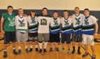South Shore Eagles Brandon Kirby, Owen Martin, Matt Dunn, Craig Johnson, Matt Bille, Colin Sheehan, Brenden Peck, and Eddie Yeadon