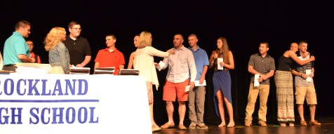 Recipients of the Patrick Sullivan Memorial Scholarships were Cameron Kelley, Julia Matson, Dylan Bernache, Katie DeLorey, Dennis McPeck, Mike Leavitt, Justin Nguyen, Brianna Starkey and Cameron Stuart.