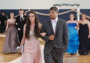 Madison Perry and her date