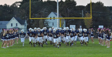 The Bulldogs take the field against the Skippers on Friday, Sept. 18.
