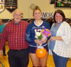 Caoline Kilduff and her parents John and Karen