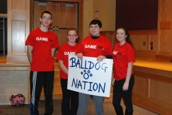 Team Balldog Nation - Sam Collyer, Sydney McKenna, Alex Anzivino, and Noelle Atkins