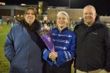 Sarah Kane with her parents Dawn and Jeff
