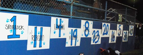 Boys Soccer Senior numbers