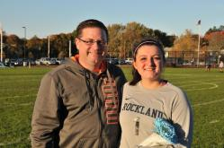 Shelise Dutcher and her dad