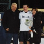 Matt Kirslis, his mother Joyce and his father James