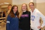 Taylor Reis, Kayla Frazer, and Natalie Ellard