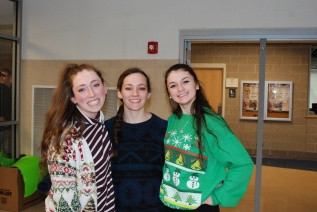 Ashley Pezzella, Angela Turner and Abby Kinlin