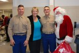 santa sue and marines