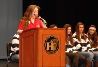 SEMASC President Ashley Pezzella (RHS)