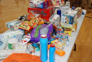 Supplies for Care Packs