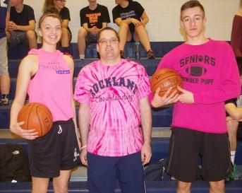 Erika, Please Pass the Ball: Erika Ochenduszko, Chris Burnieika and Steve Norris were favorites to win the tournament