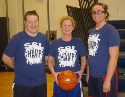 Greg Banks, Diana Mitchell and Caroline Kilduff made the Dream Team.
