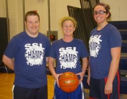 Greg Banks, Diana Mitchell and Caroline Kilduff made the Dream Team.