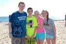 Freshmen: John Ellard, Tyler Beatrice, Caitlin Cameron, and Abby Condon