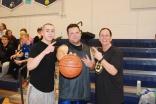 Mickey Burns, Special Ed teacher Damien Ricci and Social Studies teacher Sandy Lombardi made up the team, Flagrant Fouls