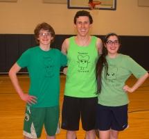 Ryan Struzziery, Patrick Finn and Erin Field made up a team called Toaster Struzzies