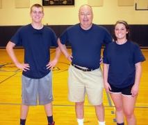 Chris Penney, Pete Tolan, and Natalie Draicchio were Chuck University. Pete Tolan subbed for Chuck McDonald.
