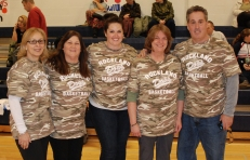 Diane Mahoney, Paula Reyno, Joanne White, Brenda Folsom and Gary Graziano photo by Hannah Boben.