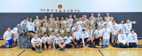 Abington and Rockland Unified Basketball Players