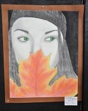 Sydney Ferguson's Art III Pastel and Pencil