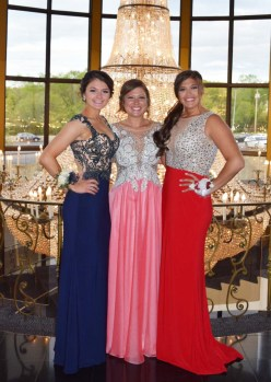 Abby Kinlin, Lexie Carchedi and Sam DeMarco