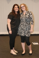 Advisors Joanne White and Kendra Donovan