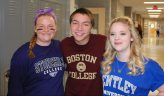 Caitlin Yannizzi, Stonehill College, Ryan Sugrue, Boston College, & Haley Macray, Bentley University