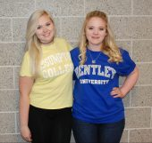 Meghan Foster, Assumption College & Haley Macray, Bentley University