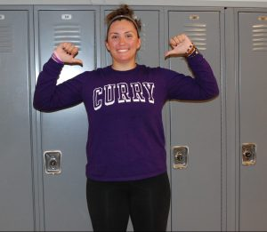 Caroline Kilduff, Curry College