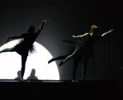 Leah DeCecco and Sophie McLellan in ballet dance number
