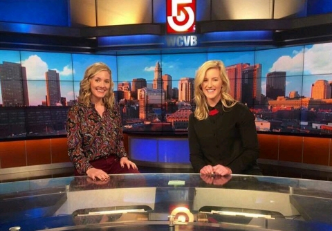 Molly Hurley, Class of 2013, will be interning at WCVB this summer. She is a Communications major at Bridgewater State University.