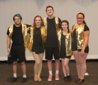 Seniors in their last show are Jeremy Bradley, Leah DeCecco, John Glennon, Sarah Hunter and Lauren Illes