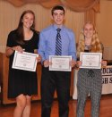 Colleen McCarthy, Leonard Field III and Julia DiCienzo, Girls and Boys State