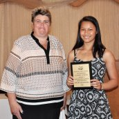 Michelle Ramoska, Academic Award for History/Social Science and Math