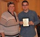 Sean Sugrue, Grade 10 History/Social Science and Math Award winner