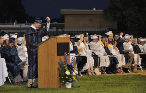 turning the tassel