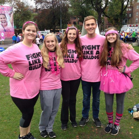 big-five-at-breast-cancer-walk