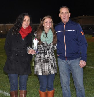Colleen McCarthy and her parents