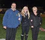 Julia DiCienzo and her parents