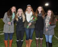 Colleen McCarthy, Julia DiCienzo, Kaylee Patten, Noelle Atkins and Sophie McLellan.