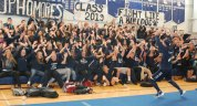 Sophomore roller coaster photo by Maddie Gear