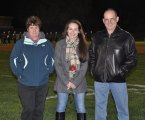 Sophie McLellan and her parents