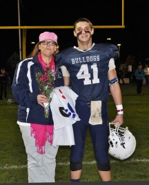 Noah Mazzilli and his mom, Tiffany