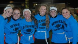 Kaylee Patten, Colleen McCarthy, Bridget Reardon, Emily Delaney and Hannah Millen.