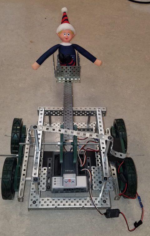Elf catches a ride in robotics